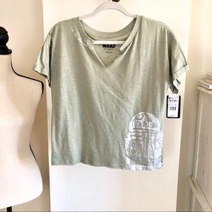 NWT Star Wars Sleepwear Top. Size S